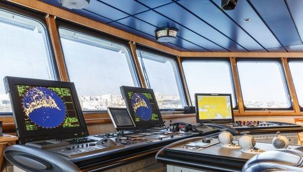 William Todd presents Todd Navigation Naval Watchkeeping Award to Sub Lieutenant Aron Nutley in September 2016.